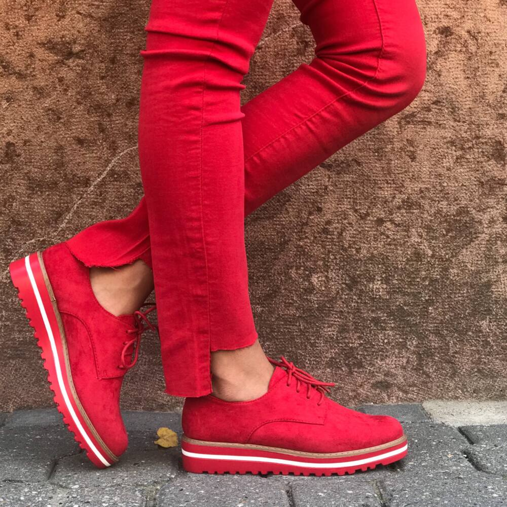 Oxford red TOPÁNKY