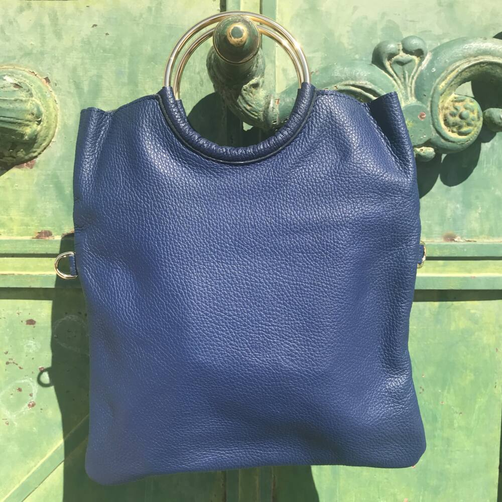 Karen kožená talianska kabelka