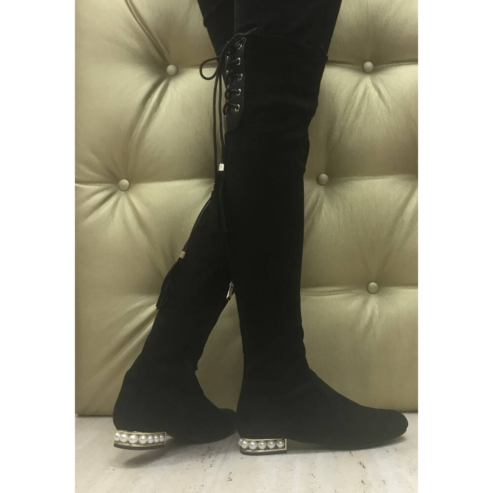 Pearl čižmy nad kolená